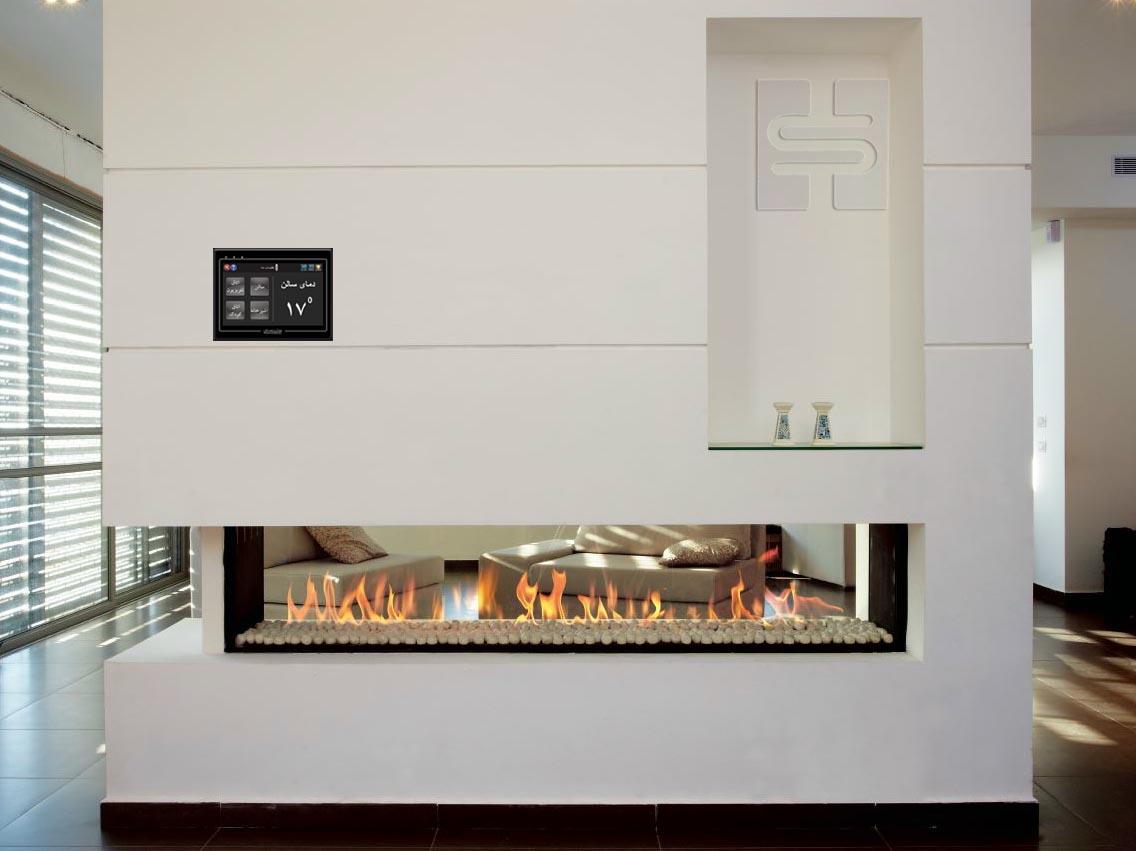 کنترل گرمایش خانه هوشمند آلفا