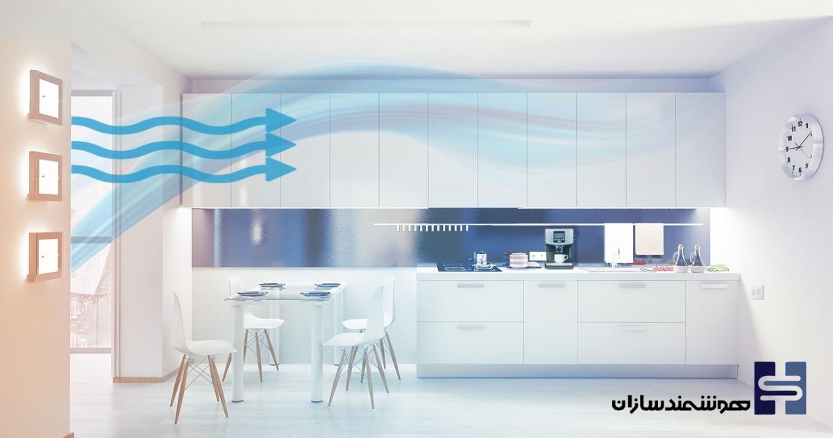 سیستم سرمایش هوشمند خانه هوشمند آلفا