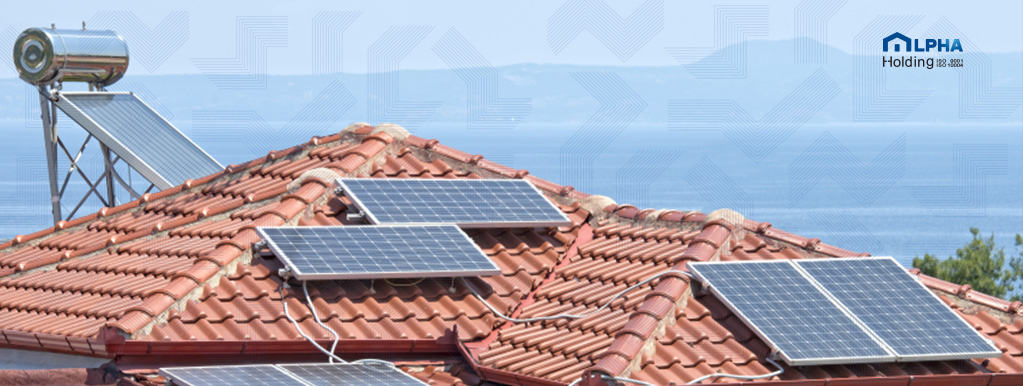 سقف خانه هوشمند پوشیده از صفحات خورشیدی (مجهز به سیستم فوتوولتاییک)