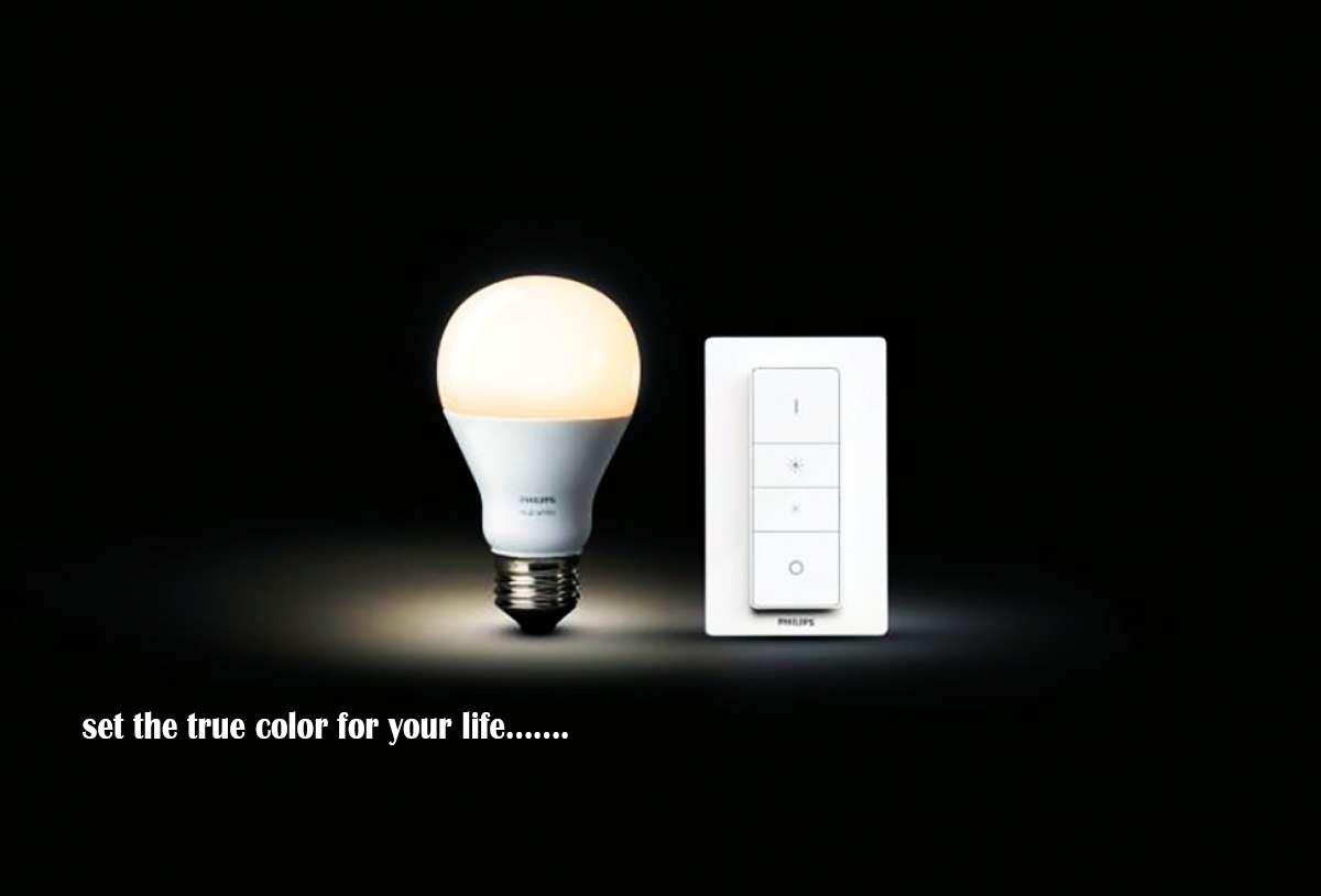 لامپ هوشمند در خانه هوشمند