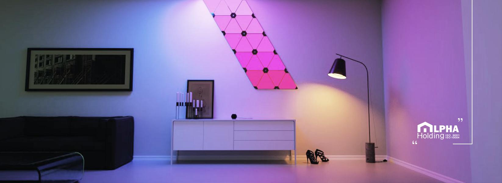تنظیم شدت نور و روشنایی خانه