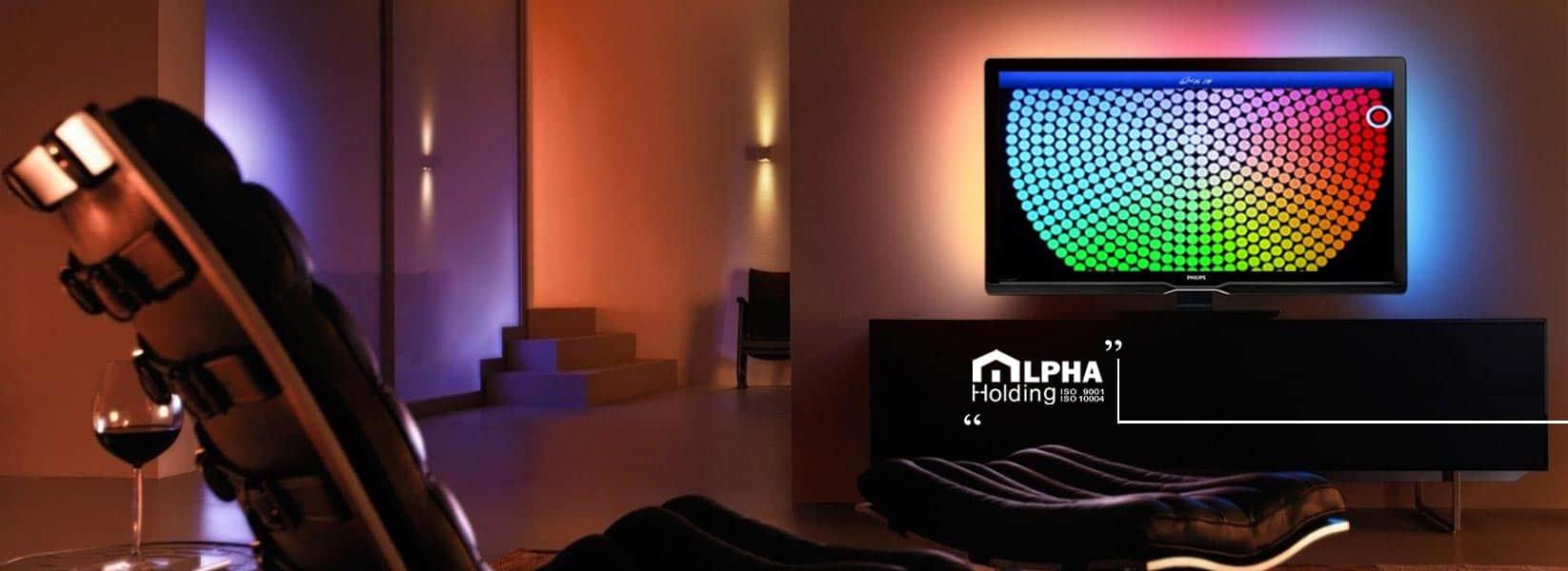 کنترلر تلویزیون در خانه هوشمند