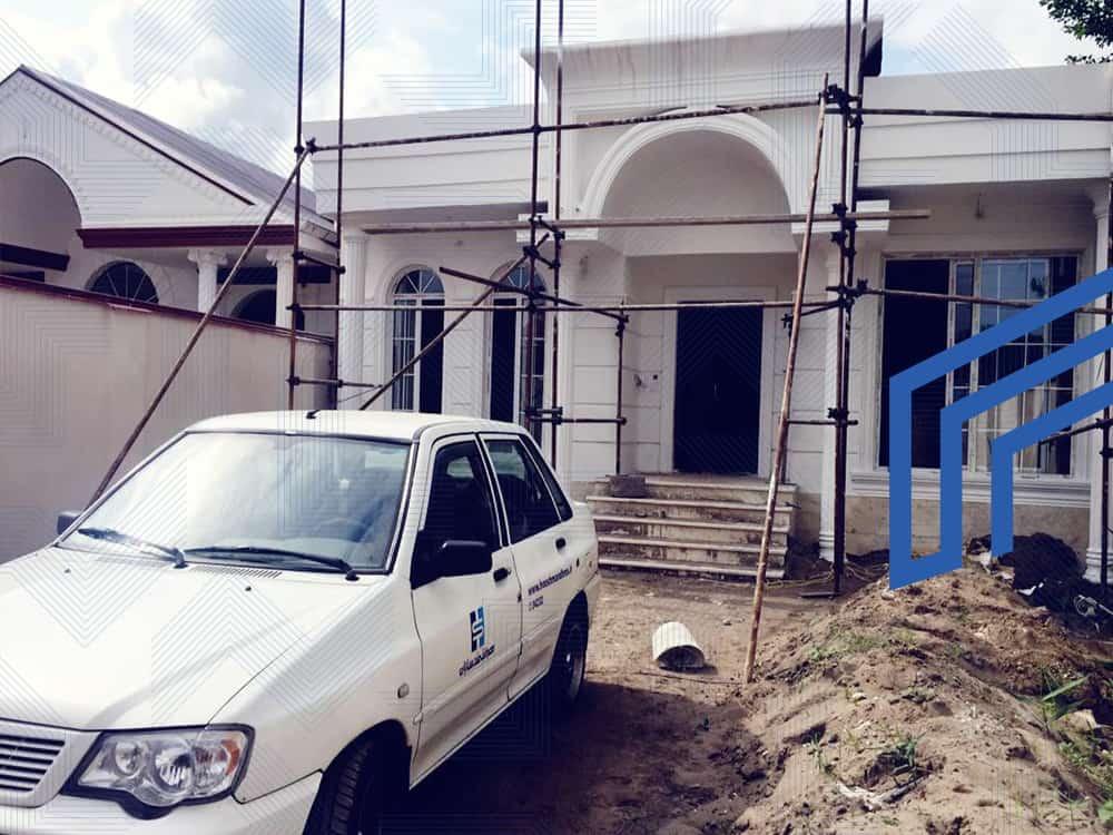 پروژه خانه هوشمند میلاد ترنج انزلی- کارفرما آقای عبدی