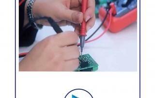 نحوه تولید کلید لمسی آلفا در واحد مونتاژ و R&D