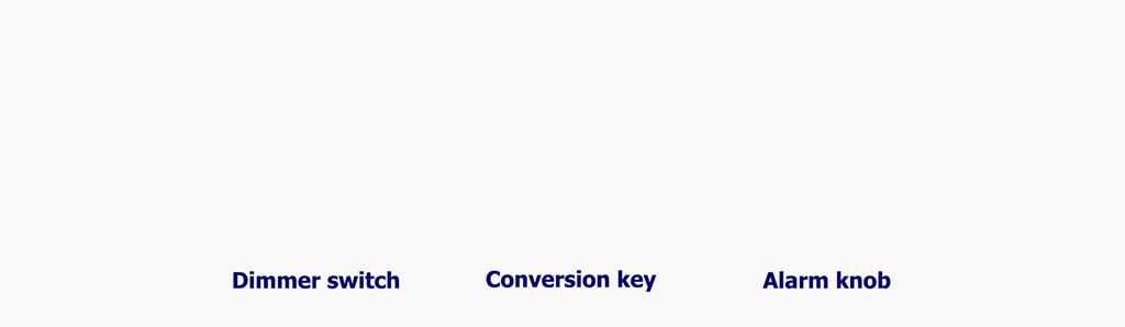 شستی زنگ لمسی + کلید تبدیل + کلید دیمر
