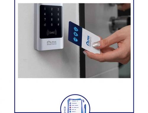 با قفل هوشمند هیچکس پشت درب نمی ماند!
